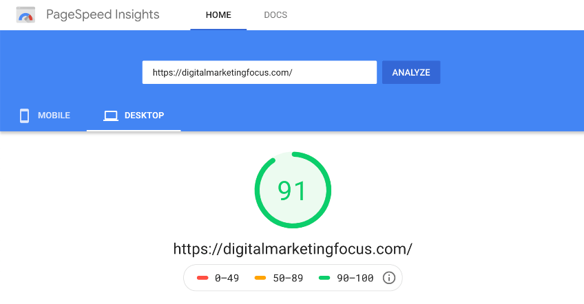 Google PageSpeed Insights why SEO is important