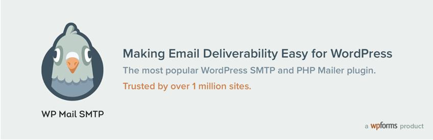WP Mail SMTP plugin for WordPress