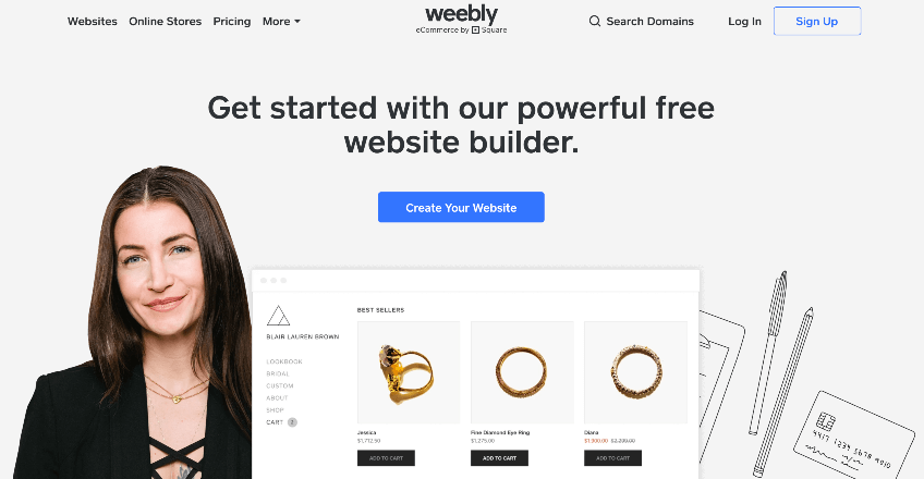 How to make money blogging with Weebly