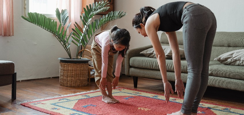 Working from home tips exercise - exercise